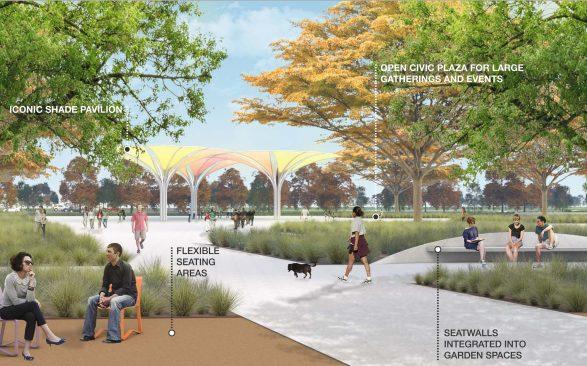 mile square park civic plaza rendering