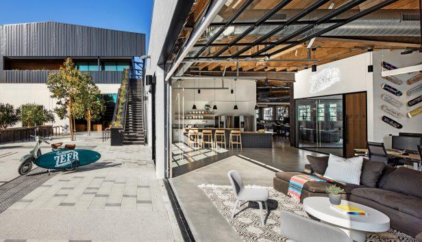 Bradmore Truss Campus LA 4 616x354 - Marina Del Rey Truss Campus Featured in Interior Design Magazine
