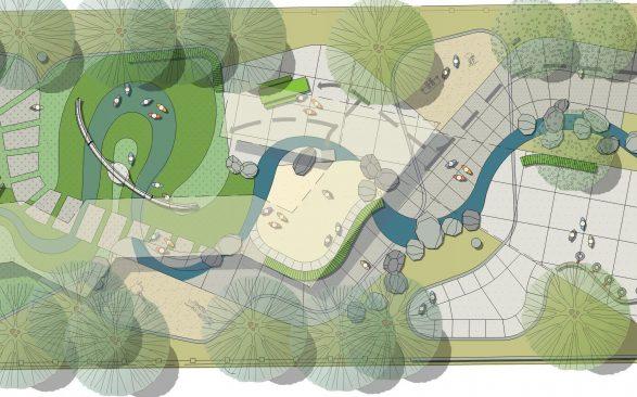 South Victoria Avenue Park  DD Phase Illustrative Plan e1566755715200 587x366 - River Oaks Park